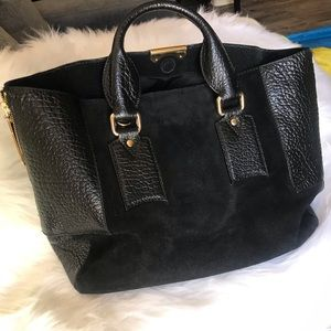 Authentic black Burberry bag